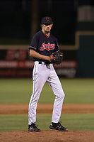 AZL Indians 1 relief pitcher Matt Turner (51) prepares to deliver a pitch during an Arizona League game against the AZL White Sox at Goodyear Ballpark on June 20, 2018 in Goodyear, Arizona. AZL Indians 1 defeated AZL White Sox 8-7. (Zachary Lucy/Four Seam Images)