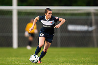 Sky Blue FC forward Kelley O'Hara (19). Sky Blue FC defeated the Seattle Reign FC 2-0 during a National Women's Soccer League (NWSL) match at Yurcak Field in Piscataway, NJ, on May 11, 2013.