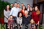 Josephine Roche seated front, celebrating her special birthday with her family and friends in Benners Hotel on Sunday last.<br /> Seated l-r, Josephine and Bill Roche with their granddaughters Ella Maria and Kayla Roche.<br /> Standing l-r, Eveleen Healy, Stephen, Lee and Alan Roche, Brian and Caroline O&rsquo;Sullivan, Darren Enright, Aoife and Aisling Roche.