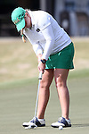 16 April 2016: Notre Dame's Isabella DiLisio. The Second Round of the Atlantic Coast Conference's Womens Golf Tournament was held at Sedgefield Country Club in Greensboro, North Carolina.