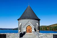 Barkhamsted Reservoir, Barkhamsted, Connecticut, USA.