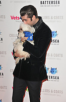 Matt Johnson at the Battersea Dogs &amp; Cats Home Collars &amp; Coats Gala Ball 2018, Battersea Evolution, Battersea Park, London, England, UK, on Thursday 01 November 2018.<br /> CAP/CAN<br /> &copy;CAN/Capital Pictures