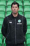 trainer Erwin van de Looi of FC Groningen,