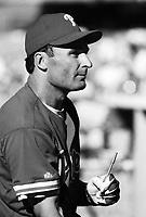 Jim Eisenreich of the Philadelphia Phillies during a 1995 season game at Dodger Stadium in Los Angeles,California.(Larry Goren/Four Seam Images)