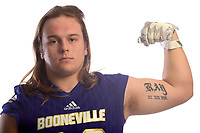 NWA Democrat-Gazette/ANDY SHUPE<br /> Booneville's Carson Ray is the Northwest Arkansas Democrat-Gazette Division II Football Player of the Year. Wednesday, Dec. 12, 2018.