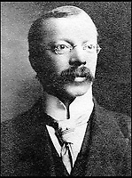 BNPS.co.uk (01202 558833)<br /> Pic: HAldridge/BNPS<br /> <br /> Doctor Hawley Harvey Crippen who was arrested for murder in 1910 while onboard a transatlantic liner the SS Montrose.<br /> <br /> A 105-year-old archive of messages that led to the dramatic capture of notorious murderer Dr Crippen - the first arrest ever made thanks to telegrams - has emerged for sale for &pound;12,000.<br /> <br /> The messages were sent from the Montrose passenger ship bound for Canada to detectives at London's Scotland Yard as Crippen fled Britain after murdering his opera singer wife in July 1910.<br /> <br /> The collection is tipped to fetch &pound;12,000 when it goes under the hammer at Henry Aldridge and Son of Devizes, Wilts, on November 14.