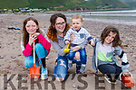 Enjoying the day in Rossbeigh beach on Monday.<br /> L to r: Nikki Leahy, Sophie Derry, Joseph and Arlo Scanlan.