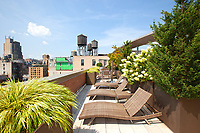 Roof Deck at 120 West 21 Street