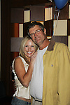 Beth Chamberlin and Jordan Clarke at The Seventh Annual Daytime Stars and Strikes benefitting The American Cancer Society hosted by Elizabeth Keifer and Jerry VerDorn with actors from One Life To Live, All My Children, As The World Turns and Guiding Light on October 9, 2010 in New York City, New York. (Photo by Sue Coflin/Max Photos)