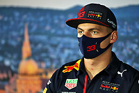 16th July 2020, Hungaroring, Budapest, Hungary; F1 Grand Prix of Hungary, drivers arrival and track inspection day;  33 Max Verstappen NLD, Aston Martin Red Bull Racing