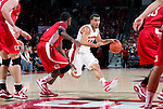 Wisconsin Badgers guard Traevon Jackson (12) handles the ball during an NCAA  college basketball game against the Cornell Big Red Sunday, November 18, 2012 in Madison, Wis. The Badgers won 73-40. (Photo by David Stluka)