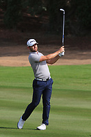Liam Johnston (SCO) in action during round 3, Ras Al Khaimah Challenge Tour Grand Final played at Al Hamra Golf Club, Ras Al Khaimah, UAE. 02/11/2018<br /> Picture: Golffile | Phil Inglis<br /> <br /> All photo usage must carry mandatory copyright credit (&copy; Golffile | Phil Inglis)