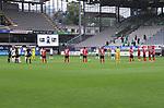 FussballFussball: agnph001:  1. Bundesliga Saison 2019/2020 27. Spieltag 23.05.2020<br />SC Freiburg - SV Werder Bremen<br />Die Mannschaften gedenken vor dem Spiel den Opfern der Corona Pandemie.<br />FOTO: Markus Ulmer/Pressefoto Ulmer/ /Pool/gumzmedia/nordphoto<br /><br />Nur fŸr journalistische Zwecke! Only for editorial use! <br />No commercial usage!