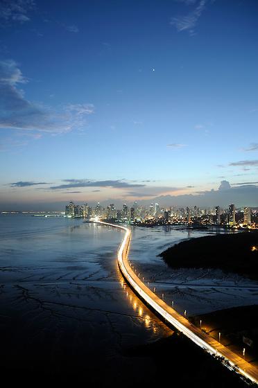 Corredor Sur y Ciudad de Panamá / Panamá.