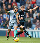 21.07.2019: Rangers v Blackburn Rovers: Borna Barisic with Bradley Dack