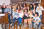 Cheyenne Cunningham, Tralee, celebrates he's 18th Birthday with family and friends at the Abbey Inn on Saturday