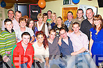 Mairead O'Boyle Antrim, Keith O'Donoghue and Padraig Dineen Brosna seated centre celebrated there 21st birthdays in the Woodview bar, Brosna Saturday night   Copyright Kerry's Eye 2008