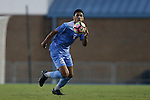 28 August 2016: North Carolina's Mauricio Pineda. The University of North Carolina Tar Heels hosted the Saint Louis University Billikens at Fetter Field in Chapel Hill, North Carolina in a 2016 NCAA Division I Men's Soccer match. UNC won the game 3-0.