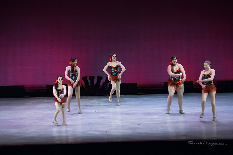 "Saturday Morning Performance of ""A Dance 4 All Seasons"", the 2017 Annual Showcase by the Cary Ballet Conservatory"