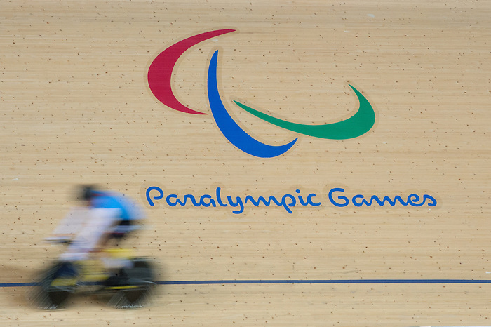 RIO DE JANEIRO - 6/9/2016:  Track cycling training at the Paralympic Village at the Rio 2016 Paralympic Games. (Photo by Matthew Murnaghan/Canadian Paralympic Committee