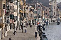 La Fondamenta di Cannareggio. (Venice, november 2006)