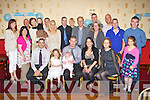 Tomas Barrett and Brita Galwey Castleisland celebrated the christening of their son Alex with his big sister Claire and family and friends in the Crown Hotel Castleisland on Sunday..