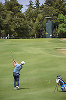 Paul Casey (GBR) hits his approach shot on 14 during round 2 of the World Golf Championships, Mexico, Club De Golf Chapultepec, Mexico City, Mexico. 2/22/2019.<br /> Picture: Golffile | Ken Murray<br /> <br /> <br /> All photo usage must carry mandatory copyright credit (© Golffile | Ken Murray)