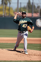 Chris Jensen - Oakland Athletics 2016 spring training (Bill Mitchell)