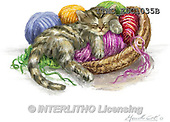 Marcello, REALISTIC ANIMALS, REALISTISCHE TIERE, ANIMALES REALISTICOS, paintings+++++,ITMCEDC1035B,#A# ,cats ,kittens