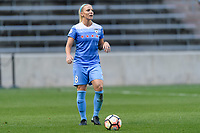 Bridgeview, IL - Wednesday August 16, 2017: Julie Ertz during a regular season National Women's Soccer League (NWSL) match between the Chicago Red Stars and the Seattle Reign FC at Toyota Park. The Seattle Reign FC won 2-1.