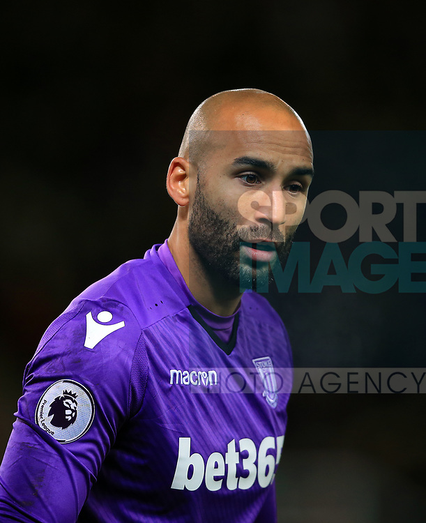 Lee Grant of Stoke City during the premier league match at the bet365 Stadium, Stoke on Trent. Picture date 29th November 2017. Picture credit should read: Clint Hughes/Sportimage