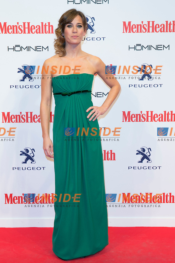 Marta Etura attend the MENS HEALTH AWARDS at Goya Theatre in Madrid, Spain. October 28, 2014. (ALTERPHOTOS/Carlos Dafonte/Insidefoto)