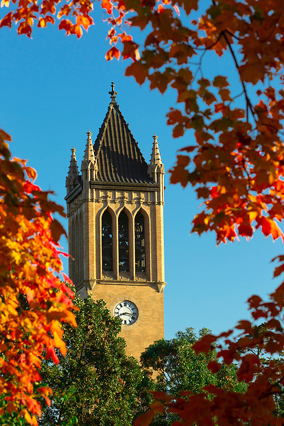 The Campanile on the campus of Iowa State University in Ames, Iowa. (Christopher Gannon/Gannon Visuals)