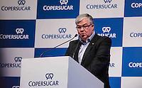 SANTOS, SP, 05 DE JUNHO 2013 - INAUGURACAO EXPANSAO DO TERMINAL ACUCAREIRO COPERSUCAR - Luís Roberto Pogetti, presidente da Copersucar Inauguração da expansão do Terminal Açucareiro Copersucar no Porto de Santos litoral sul do Estado de Sao Paulo nesta quarta-feira, 05. FOTO: VANESSA CARVALHO - BRAZIL PHOTO PRESS.
