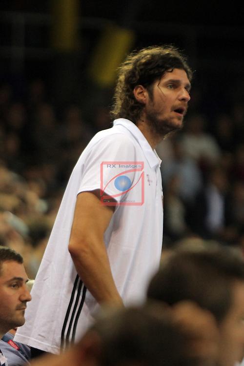 VELUX EHF <br /> 2016/17 EHF Men's Champions League Group Phase - Round 5.<br /> FC Barcelona Lassa vs Telekom Veszprem: 26-23.<br /> Lazlo Nagy.