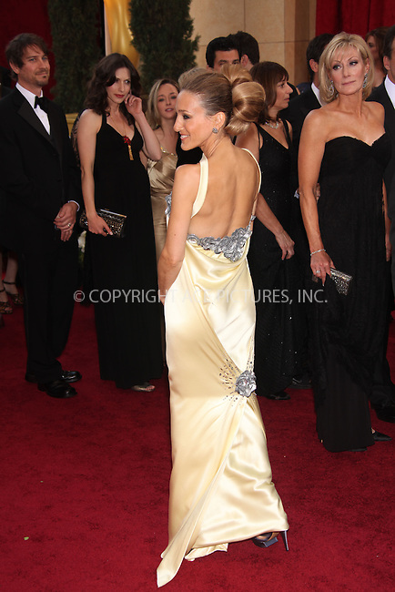 WWW.ACEPIXS.COM . . . . .  ....March 7 2010, Hollywood, CA....Actress Sarah Jessica Parker arriving at the 82nd Annual Academy Awards held at Kodak Theatre on March 7, 2010 in Hollywood, California.....Please byline: Z10-ACE PICTURES... . . . .  ....Ace Pictures, Inc:  ..Tel: (212) 243-8787..e-mail: info@acepixs.com..web: http://www.acepixs.com