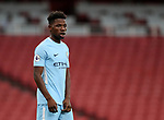 Manchester City's Taylor Richards in action during the premier league 2 match at the Emirates Stadium, London. Picture date 21st August 2017. Picture credit should read: David Klein/Sportimage