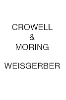 Crowell & Moring WEISGERBER