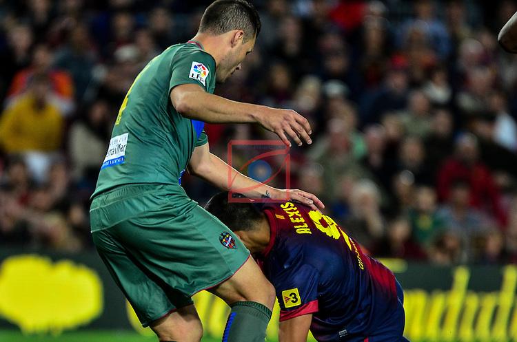 navarro, alexis - FC Barcelona vs Levante UE (1-0) LFP Game 32