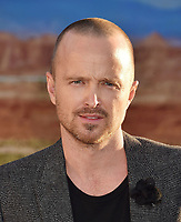 "WESTWOOD, CA - OCTOBER 07: Aaron Paul attends the premiere of Netflix's ""El Camino: A Breaking Bad Movie"" at Regency Village Theatre on October 07, 2019 in Westwood, California.<br /> CAP/ROT/TM<br /> ©TM/ROT/Capital Pictures"