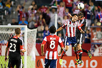 CARSON, California - September 8, 2013: CD Chivas USA defeated D.C United 1-0 during a Major League Soccer (MLS) game at StubHub Center stadium.
