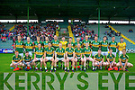 The Kerry Team who played Cork in the Munster Junior Football Final on Wednesday evening at Austin Stack park, Tralee