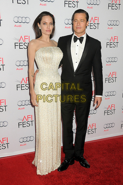 5 November 2015 - Hollywood, California - Angelina Jolie Pitt, Brad Pitt. AFI FEST 2015 - &quot;By The Sea&quot; Premiere held at the TCL Chinese Theatre.  <br /> CAP/ADM/BP<br /> &copy;BP/ADM/Capital Pictures