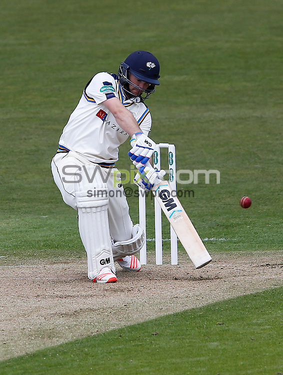 Picture by John Clifton/SWpix.com - 17/04/2016 - Cricket - Specsavers County Championship Division One - Yorkshire CCC v Hampshire CCC, Day 1 - Headingley Cricket Ground, Leeds, England - Adam Lyth of Yorkshire