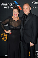 Denise Welch &amp; Lincoln Townley  at the 2017 AMD British Academy Britannia Awards at the Beverly Hilton Hotel, USA 27 Oct. 2017<br /> Picture: Paul Smith/Featureflash/SilverHub 0208 004 5359 sales@silverhubmedia.com