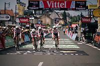 Team Trek-Segafredo rolling in<br /> <br /> Stage 3 (Team Time Trial): Cholet > Cholet (35km)<br /> <br /> 105th Tour de France 2018<br /> ©kramon