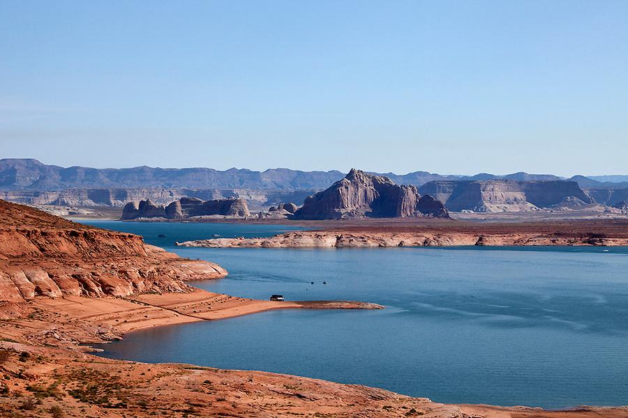 Lake Powell in Page, Arizona