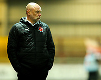 Fleetwood Town manager Uwe R&ouml;sler watches on during the closing stages of the game <br /> <br /> Photographer Alex Dodd/CameraSport<br /> <br /> The EFL Sky Bet League One - Fleetwood Town v Shrewsbury Town - Tuesday 13th February 2018 - Highbury Stadium - Fleetwood<br /> <br /> World Copyright &copy; 2018 CameraSport. All rights reserved. 43 Linden Ave. Countesthorpe. Leicester. England. LE8 5PG - Tel: +44 (0) 116 277 4147 - admin@camerasport.com - www.camerasport.com