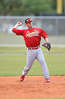 St. Louis Cardinals Third baseman Patrick Wisdom (23) during a minor league spring training intrasquad game on March 28, 2014 at the Roger Dean Stadium Complex in Jupiter, Florida.  (Mike Janes/Four Seam Images)