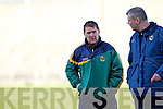 Kerry Trainer Jack O'Connor Kerry v Limerick Institute Technology in the Quarter Final of the McGrath Cup at Austin Stack Park, Tralee on Sunday 16th January.